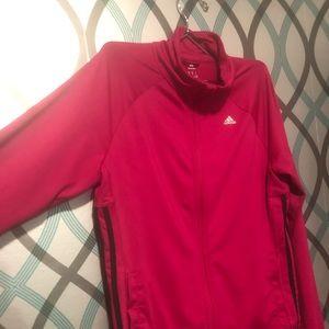 Adidas Pink Classic Track Jacket